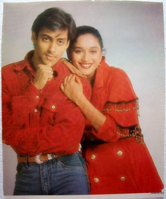 Blast From The Past - Salman khan & Madhuri Dixit on the cover of Filmfare (Plus Photoshoot)   PINKVILLA