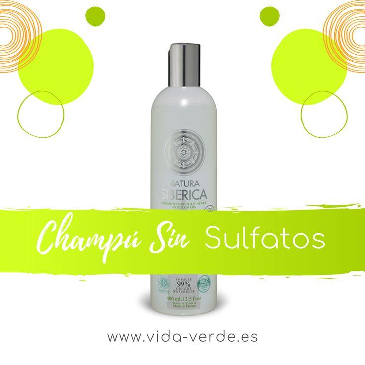 Champú Neutro Sin Sulfatos Ni Siliconas Natura Siberica Champu Shampoo Sin Sulfato Laca De Uñas