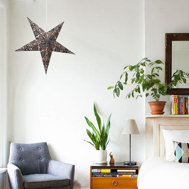 Paper star lamp are fold-able star lamp collection.They can be hung from ceiling or walls. http://www.29june.com/index.php/paper-stars.html