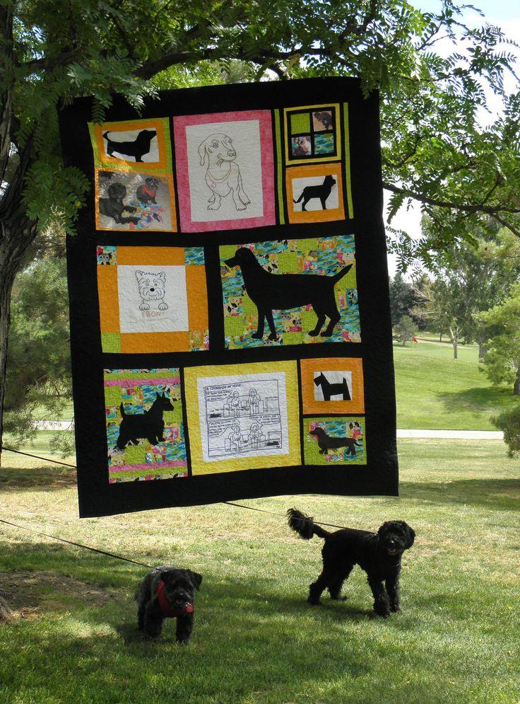 17 Best Images About Dog Quilts On Pinterest Quilt