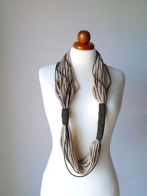 Collar africano bufanda grueso joyería joyas por PlexisArt en Etsy