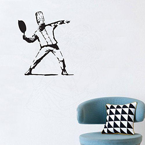 Banksy Chef Wall Sticker Vinyl Transfer Decal Grafitti Ar... https://www.amazon.co.uk/dp/B0719TQVB3/ref=cm_sw_r_pi_dp_x_fJOnzb0STCMMK