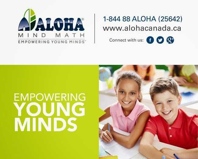 ALOHA is the pioneer and world leader in Abacus and Mental Arithmetic.ALOHA Mind Math is offering franchise throughout Canada.    Aloha Contact Us - York Business Center, Unit #112, 12888 80th Ave Surrey BC V3W 3A8, Email: franchise@alohacanada.ca Toll Free No: 1-844-88 (ALOHA) 25642 Tel. (604) 597-8663   Aloha Mind Math provides a Complete Brain Development Program based on the Mental Arithmetic System. It is an accredited international training program for children in the age group of 5…
