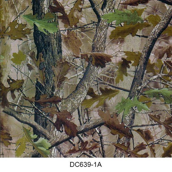 Hydro dipping film camouflage pattern DC639-1A
