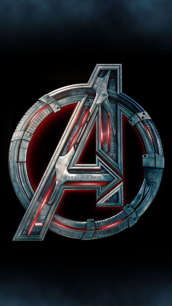 Avengers-2-Age-of-Ultron-Logo-iPhone-6-Wallpaper
