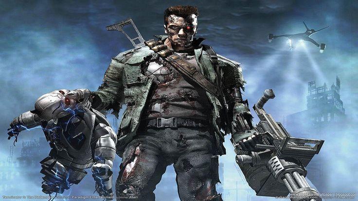Download Terminator Games Wallpaper Images HD Desktop