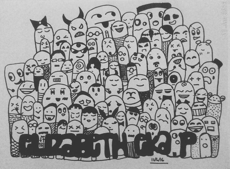 My first doodle  Good for beginner  #Doodle #mydoodle #doodleart