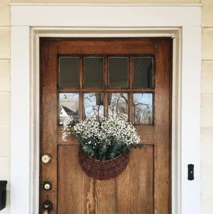 63 Ideas For Front Door Porch Entrance Colour Rustic Front Door Window Trim Exterior Front Entrance Decor