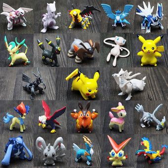 Buy 24Pcs For Pokemon Action Figures Toys Small Cartoon Anime For Children online at Lazada. Discount prices and promotional sale on all. Free Shipping.