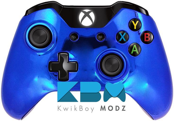 Chrome Blue Xbox One Controller - KwikBoy Modz, LLC