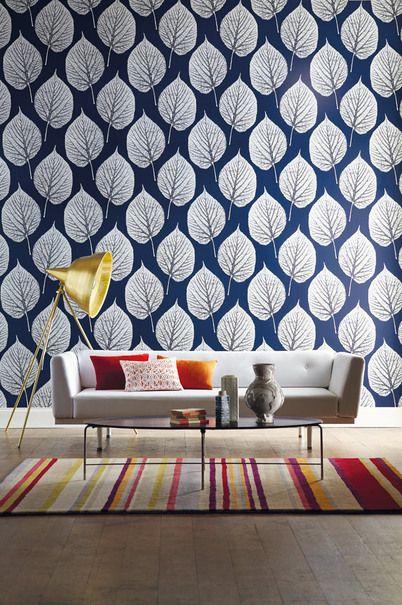 wallpaper papier peint feuille