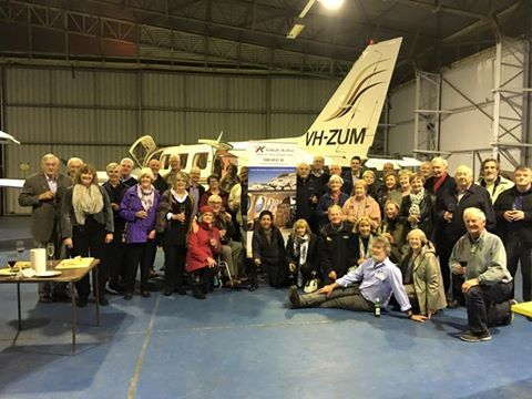 Info evening with Rotary in the Kirkhope Hangar