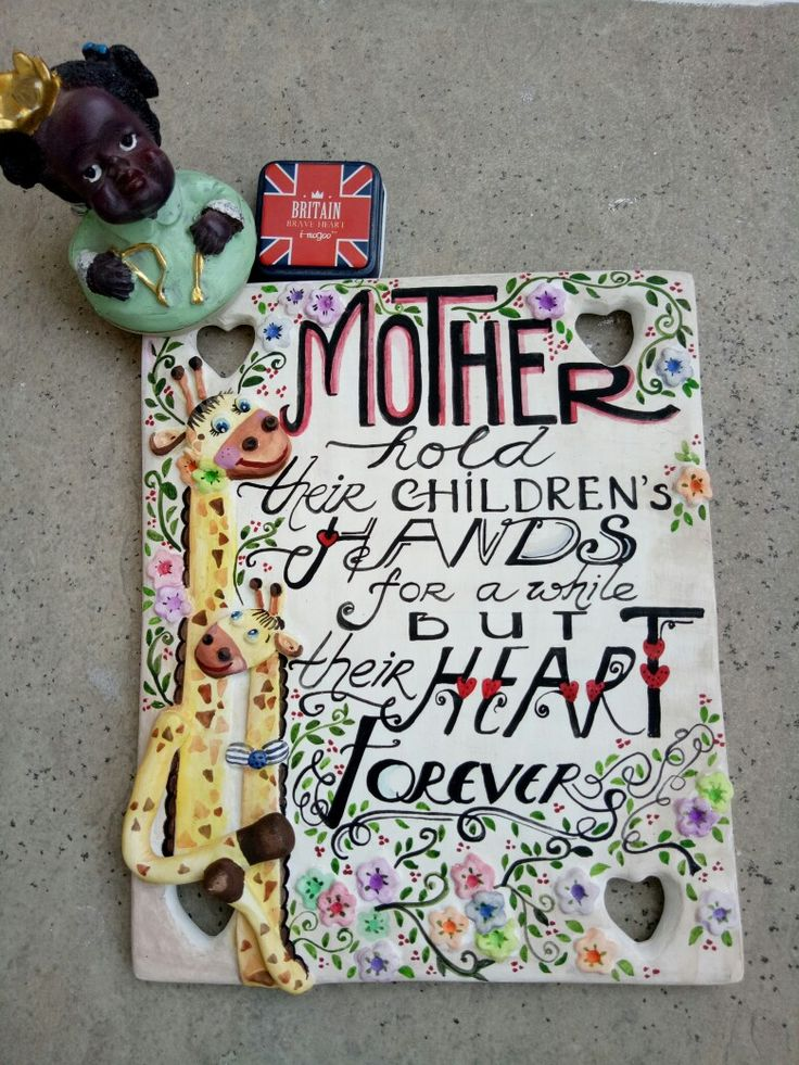 """Quote board """" Mother... """""""