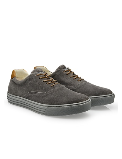 #HOGANREBEL Men's Spring - Summer 2013 #collection: soft suede #sneakers with leather details.