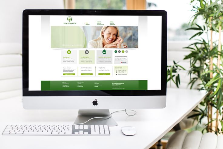 HOHENAUER VERSICHERUNG | Logo Design, CD, Campaign, Ads, Webdesign by Big Pen
