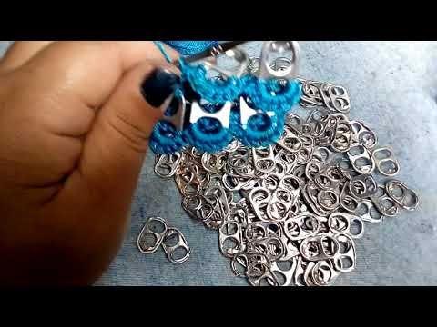 5. Manualidades: Como hacer bolso con anillas (Reciclaje) Ecobrisa - YouTube