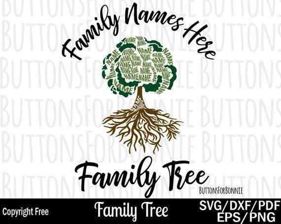 Family Reunion Svg Family Tree Svg Tree Svg Roots Svg Etsy Family Tree Family Reunion Personalised Family Tree