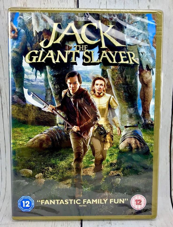 Jack the Giant Slayer DVD 2013 New and sealed Family Films action adventure