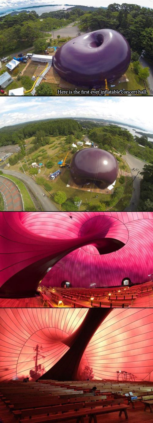 1000 images about indoor magic on pinterest yayoi for Ark nova concert hall