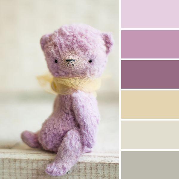 Color palette: teddy bear | 15 стильных палитр от Ярмарки Мастеров - Ярмарка Мастеров - ручная работа, handmade
