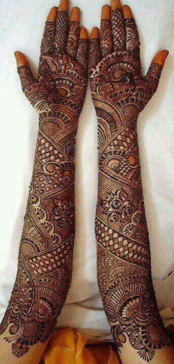 Beautiful Mahandi design.