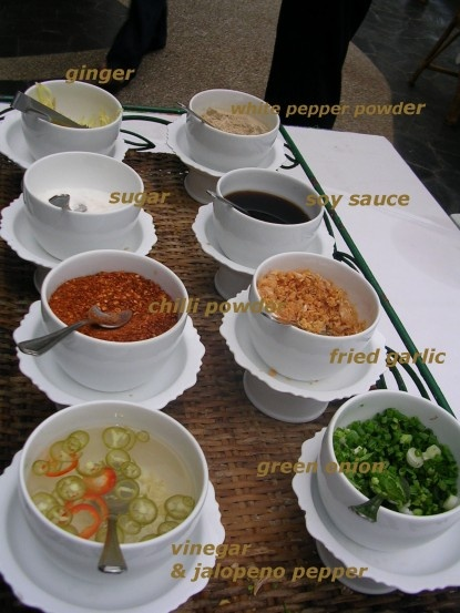 Accompaniement for Rice Porridge & Rice Porridge Recipe