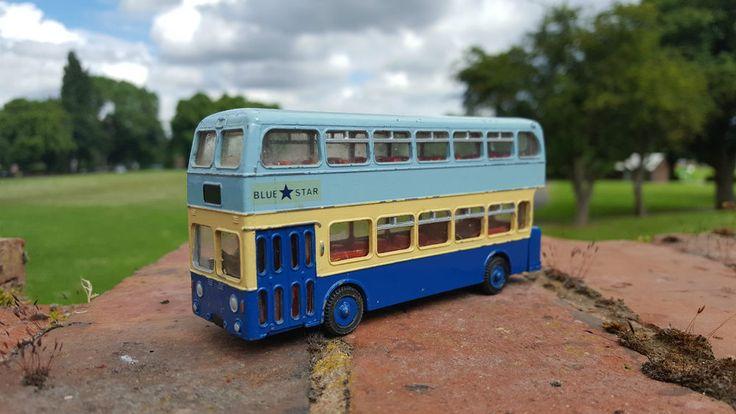 Vintage Dinky Toys Atlantean Bus in Blue Star Colours | eBay