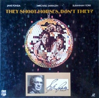 THEY SHOOT HORSES, DON'T THEY - (2) LASER DISC BOX SET - SIGNED BY S.POLLACK