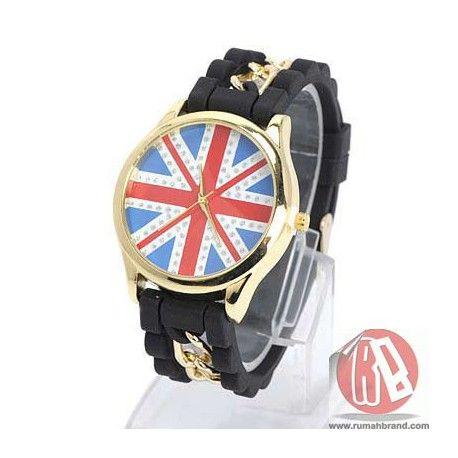 England (J-833) @Rp. 99.000,-  http://rumahbrand.com/tren-wanita/1507-england.html  #hadiah #kado #jam #clock #souvenir #digital #waktu #watch #gimmick #fashion #rumahbrand #tren #trendy #murah #store #jamtangan #mall #style #shopping #retail #rumah #mal #fancy #brand #grosir #pukul #lonceng #arloji #pencatatwaktu #penjagawaktu #hour #time #ticker #timepiece #horologe #timekeeper #analog #jamdigital #jamanalog #jammurah #jamtanganmurah #bazaar #jamtangankeren #arcademarketplace #digitimes…