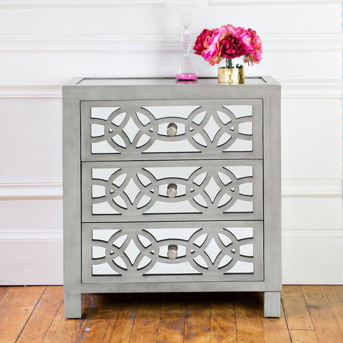 You'll love the Bridgman 3 Drawer Mirror Chest at Wayfair - Great Deals on all Furniture  products with Free Shipping on most stuff, even the big stuff.