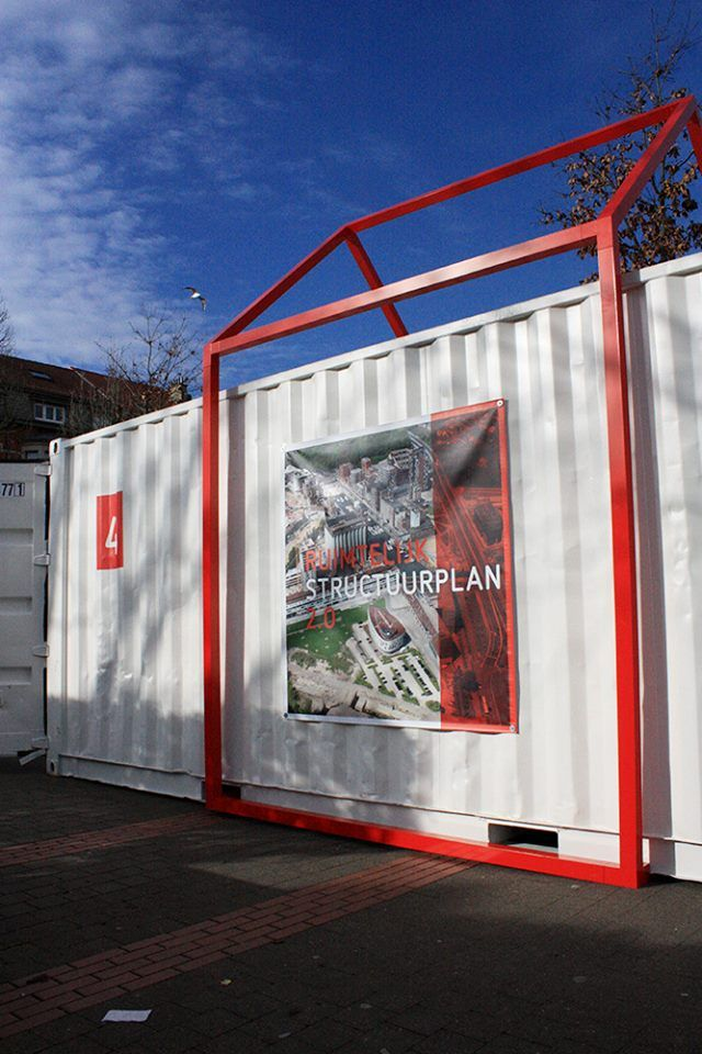 Het Ruimtelijk Stuctuurplan 2.0, made with Topclamp parts_construction/design by Fugzia b.v   Outside   tiny house   construction    Open Frame   Aluminium   Design   sustainable