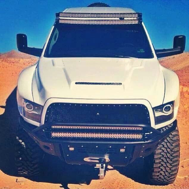 Dodge Ram Those Light Bars Dream Truck Ideas