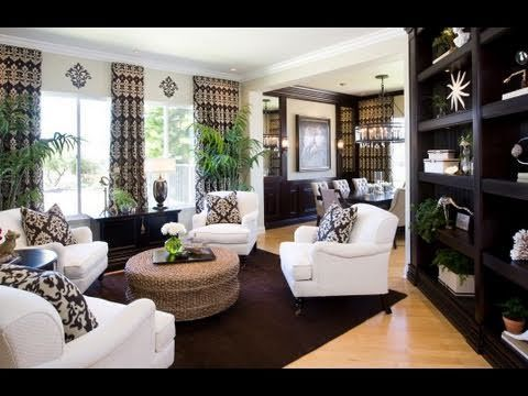 Traditional Formal Living Room Decorating Ideas Window Treatments Best Interior Design On Youtube. Homes Used To ...