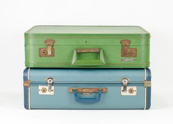 17 Best images about Suitcases let's go! on Pinterest | Vintage ...