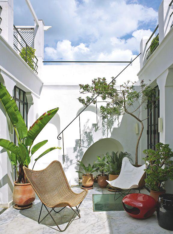 Morocco patio