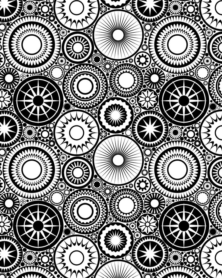 29 printable mandala abstract colouring pages for meditation stress