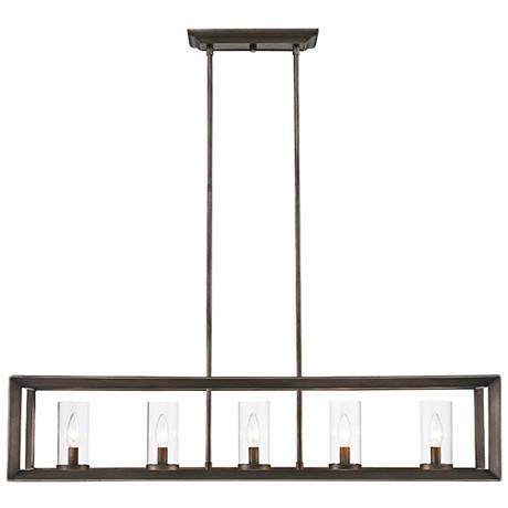 rectangular cage chandelier farmhouse smyth 41
