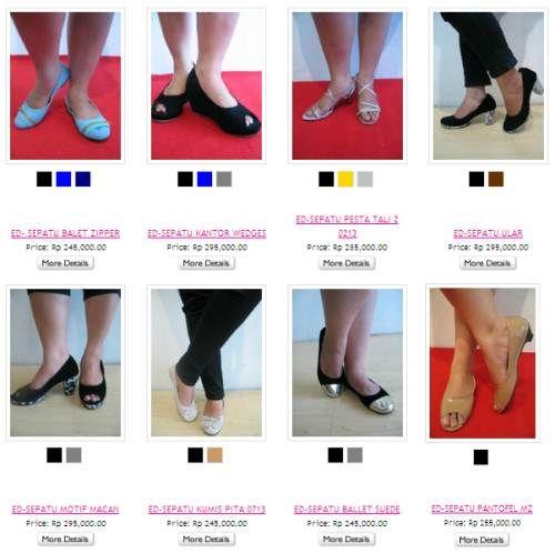Jual Sepatu Wanita Ukuran Besar Murah Terbaru