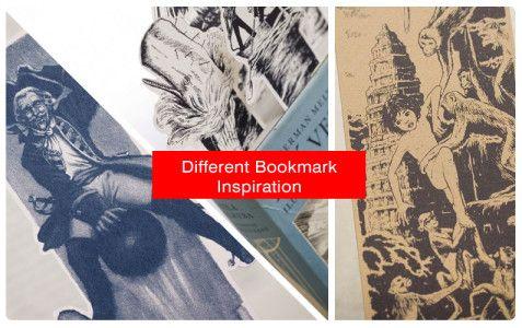 Original Bookmark Printing Inspired From Great Novels