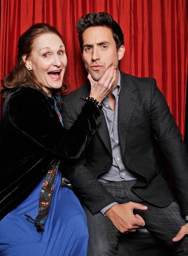 Beth Grant and Ed Weeks at PaleyFest 2013.