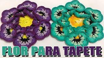 Crochetando com EuroRoma e Marcelo Nunes - Flor Sininho | Parte 2 - YouTube