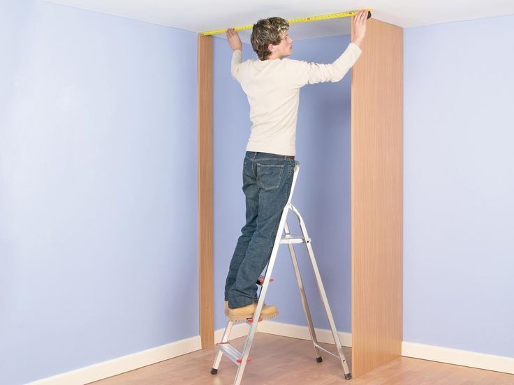 How to Build a Closet Into the Corner of a Room | how-tos | DIY