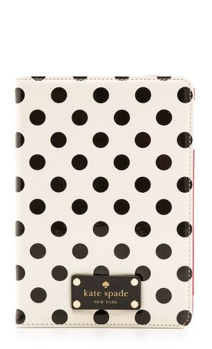 Polka dot iPad case