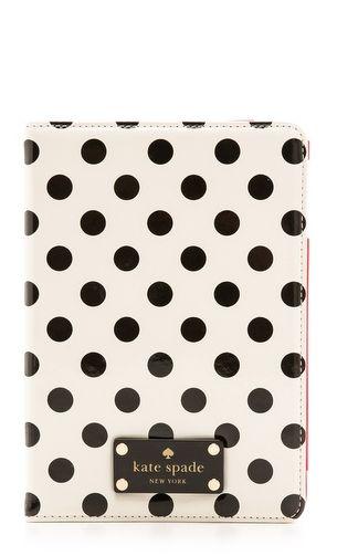 Polka dot iPad case