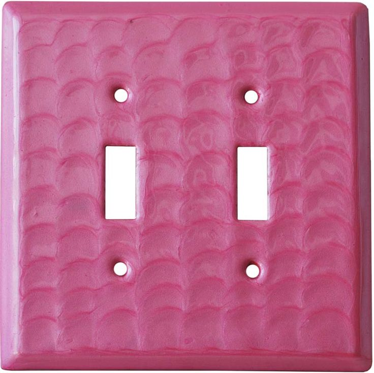 Pink Motion Light Switch Plates, Outlet Covers, Wallplates