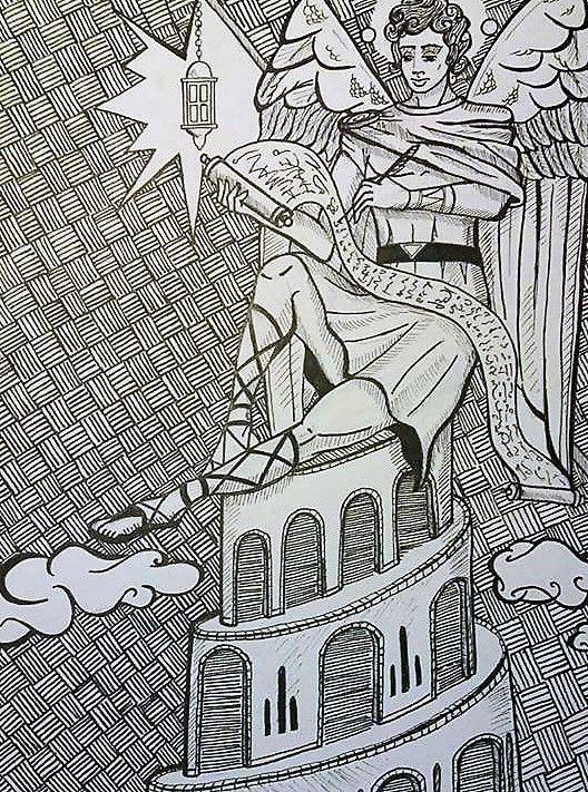 Nebo/ Niburu Sumerian angel