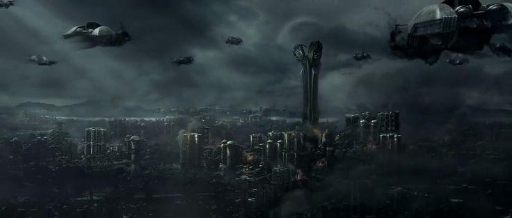 Chronicles of Riddick. Necromongers' ships