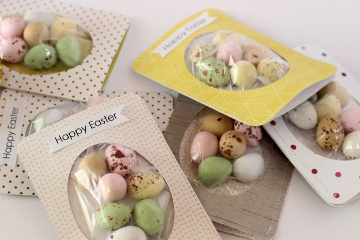Easter crafting with the Jot Girls -- egg tags by Mardi Winen
