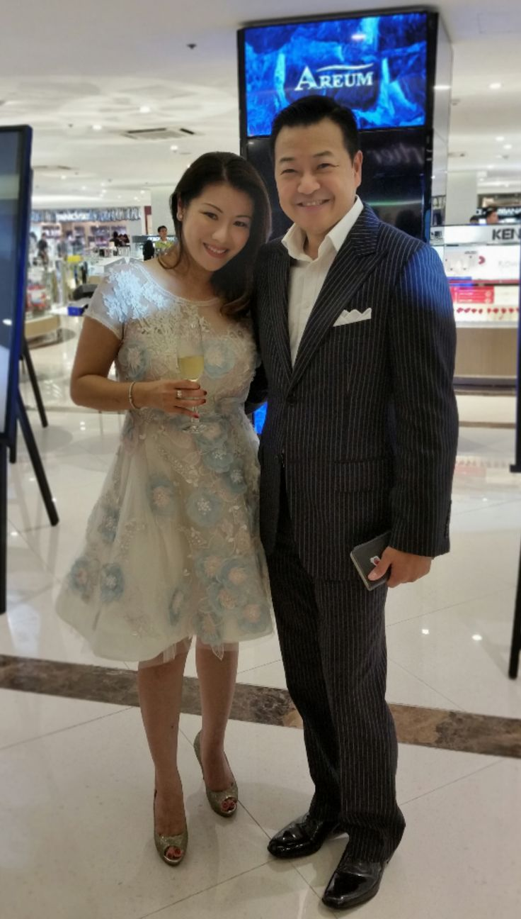 CEO & President of AREUM Mrs. Vicky Kim & Mr. David Kim