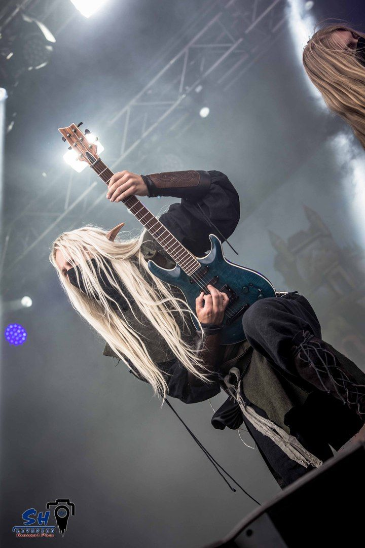 Aerendir Photo by Swen Heim, SH Livepics  Rockharz 2016  #TwilightForce #music #metal #concert #gig #musician #Aerendir #guitar #guitarist #elf #ninja #mask #anime #blond #longhair #wow  #warcraft #festival #photo #fantasy  #cosplay #larp #man #onstage #live #celebrity #Sweden #Swedish #Rockharz